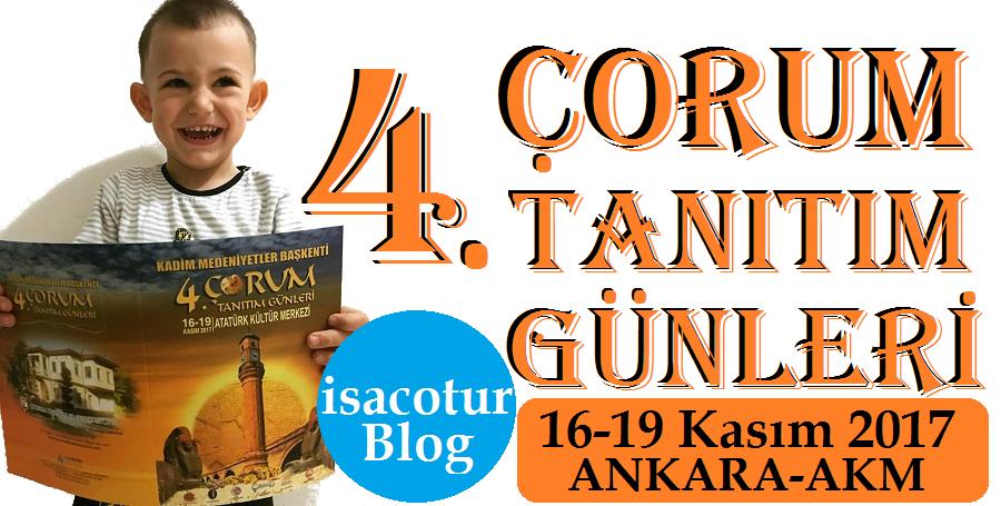 Ankara Akm'de Çorum Tanıtım Günleri