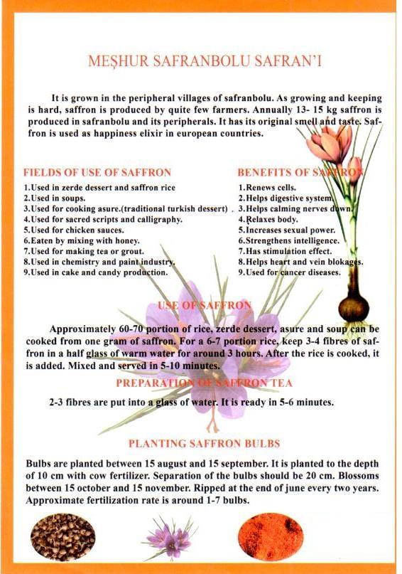 safranbolu saffron