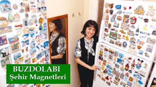 Buzdolabi Şehir Magnetleri