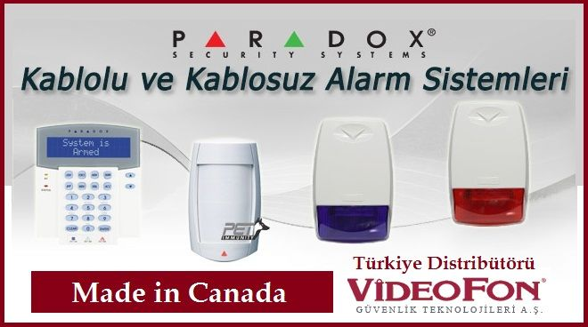 Paradox Alarm Paneli