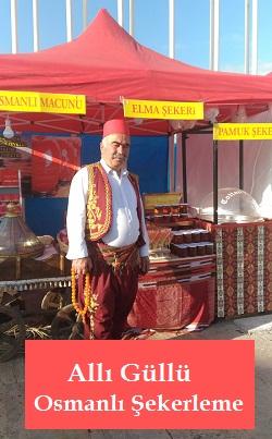 Allı Güllü Osmanlı Şekerleme
