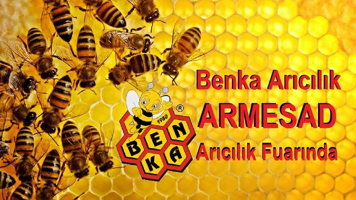 Benka Arıcılık ARMESAD Arıcılık Fuarında