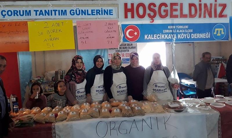 Kırım Türkleri Çorum Tanıtım Günlerinde