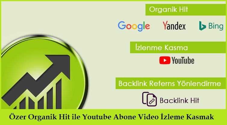 Özer Organik Hit ile Youtube Abone Video İzleme Kasmak