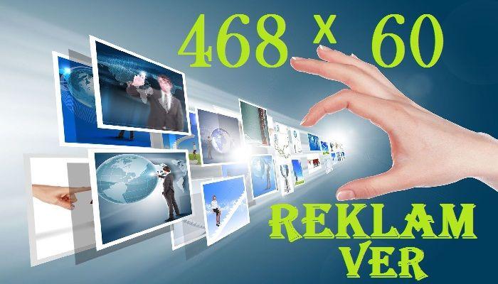 468×60 Reklam Alanı Bannerleri