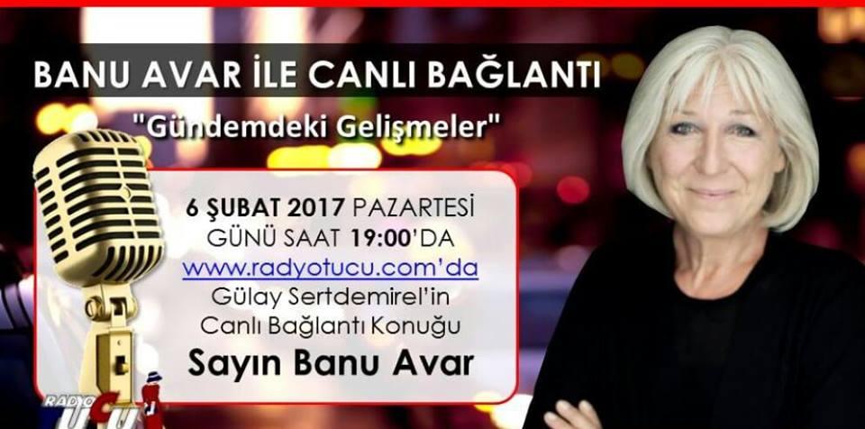 Banu Avar Radyo Proğramı