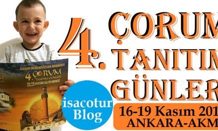 Ankara Akm Corum Tanitim Gunleri