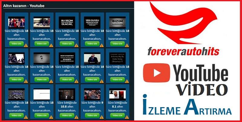 Youtube Video İzlenme Sayısını Arttırma Yöntemleri: ForeverAutoHits