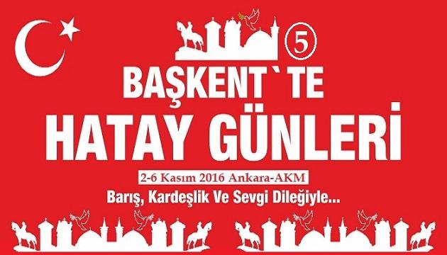 Ankara'da Hatay Tanıtım Günleri