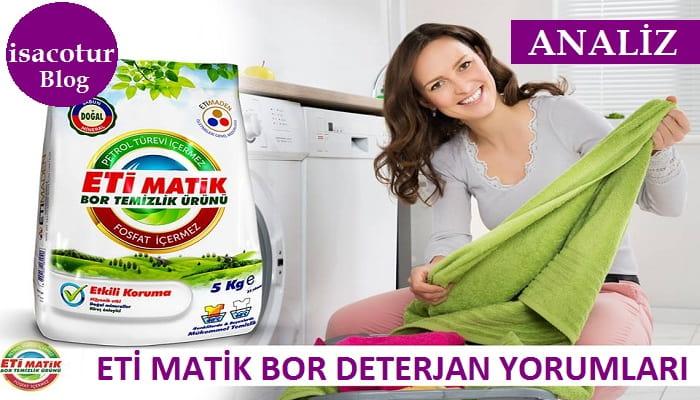 Bor Matik Deterjan