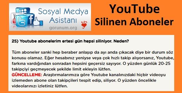 Görünüm Org Sitesi ile Youtube Abone Kasmak