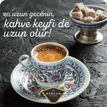 Kervan Pastanesi 21 Aralık En Uzun Gece Kampanyaları