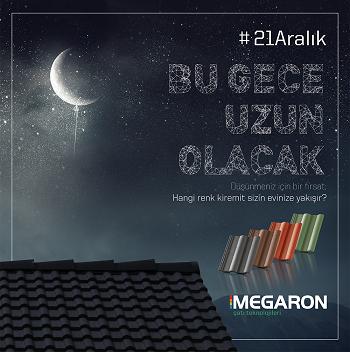Megaron 21 Aralık En Uzun Gece Kampanyaları
