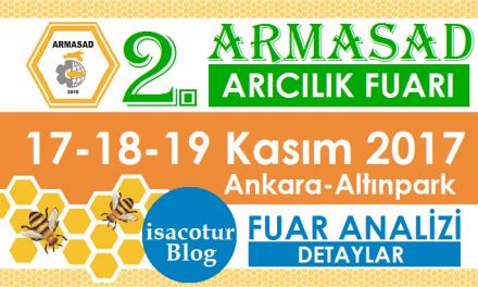 2.ARMASAD Arıcılık Fuarı 2017 Ankara