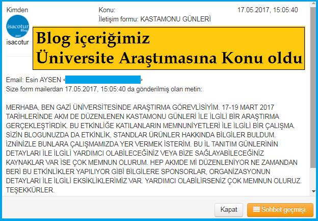 Gazi Üniversitesi Öğretim Görevlisi Esin Aysen Ankara Akm Fuar Araştırması