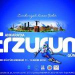 Ankara'da Erzurum Tanıtım Günleri 2018
