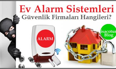 Ev Alarm Sistemleri Firmaları