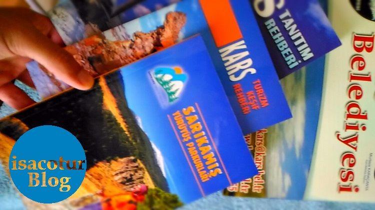 Kars Gezi Rehberi Kitapları
