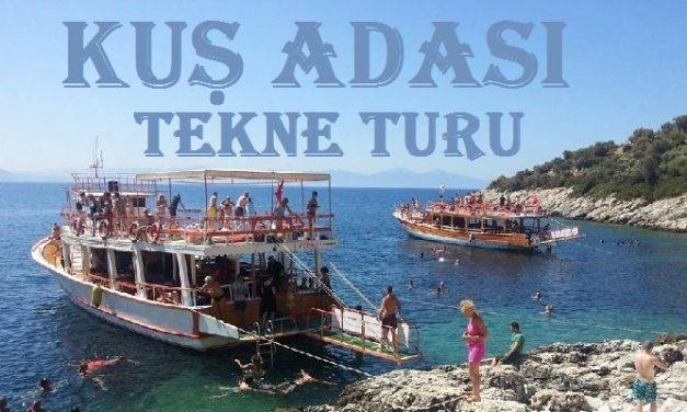Kuş Adası Tekne Turu