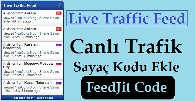 Live Traffic Feed Code
