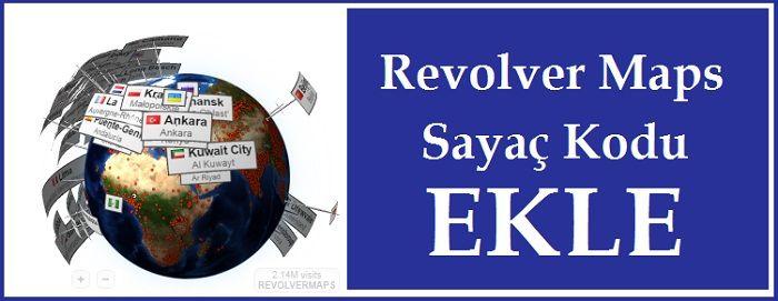 Revolvermaps World Sayac kodu