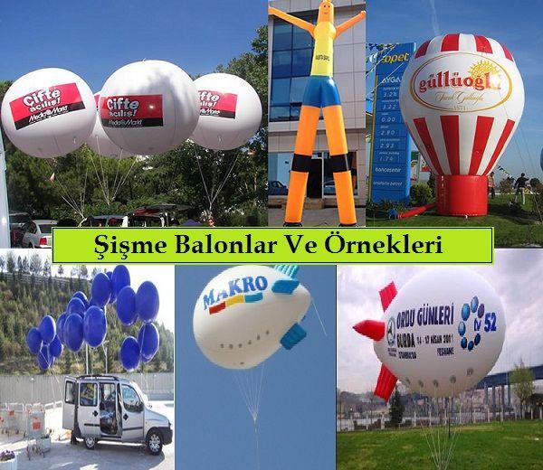 Şişme Balon Çeşitleri