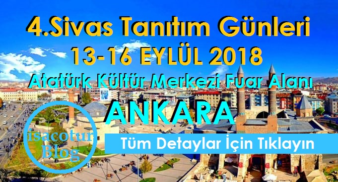 4.Sivas Tanıtım Günleri Ankara 2018