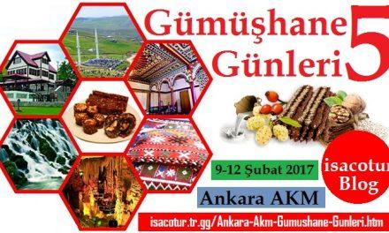 Ankara Gümüşhane Tanıtım Günleri 2017