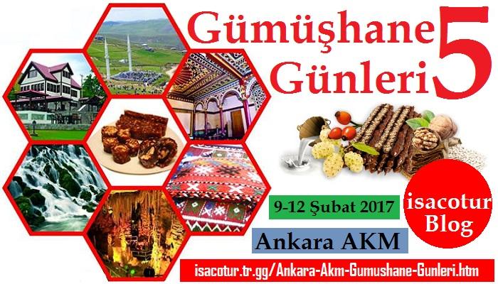 Ankara Akm Gümüşhane Günleri