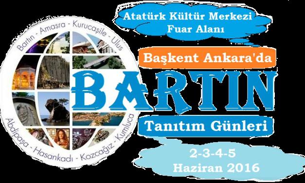 Ankara'da Bartın Tanıtım Günleri