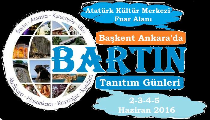 Ankara'da Bartın Tanıtım Günleri 2016