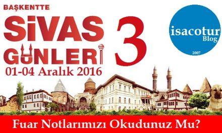 Ankara'da Sivas Tanıtım Günleri 2016