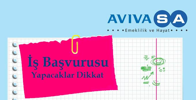 AVIVASA Call Center İş Başvurusu