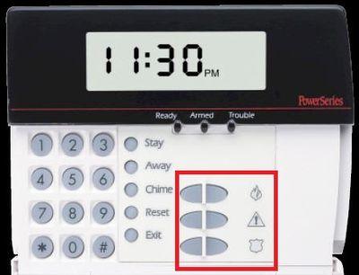 Alarm şifre paneli