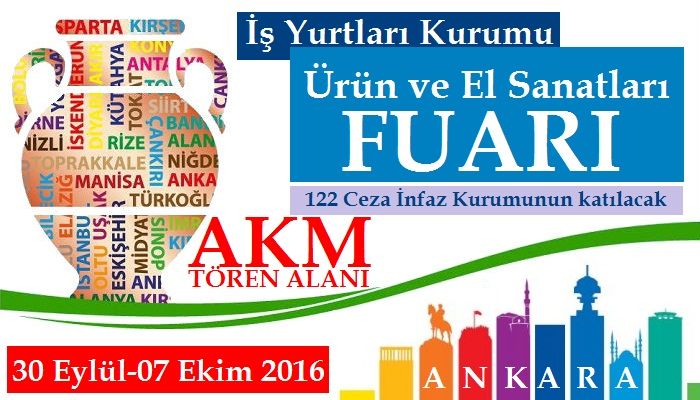 İş Yurtları Fuarı Ankara 2016