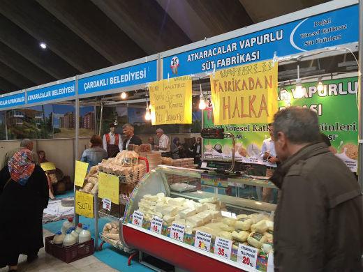 Vapurlu Süt Ürünleri AKM'de Çankırı Tanıtım Günleri Fuarında