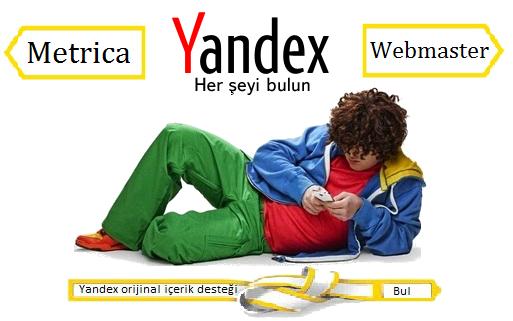 Yandex orijinal içerik desteği nedir
