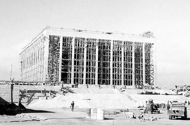 Anıtkabir İnşaatının Yapım Aşamaları