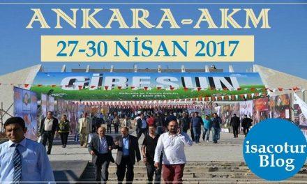 Ankarada Giresun Tanıtım Günleri