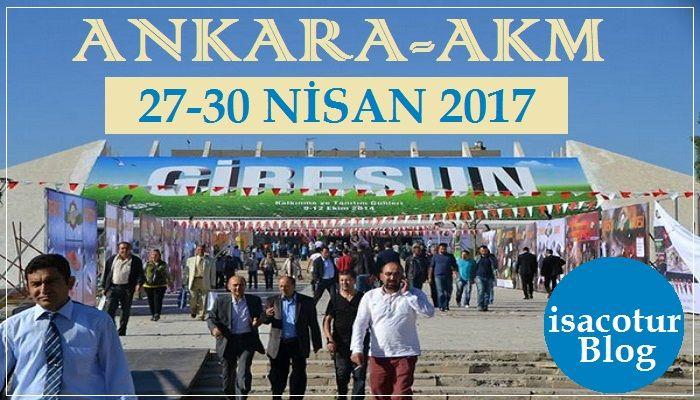 Ankara Akm'de Giresun Günleri 2017