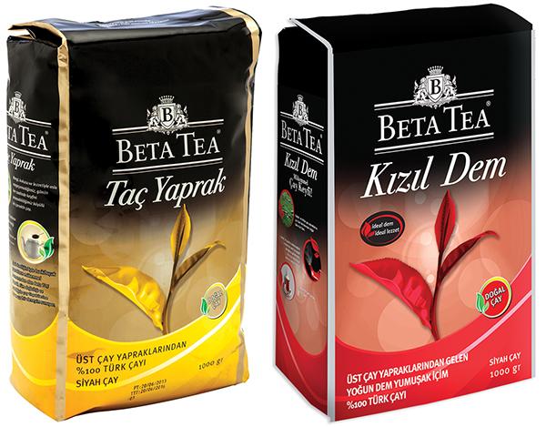 Beta Taç Yaprak ve Beta Kızıl Dem çay