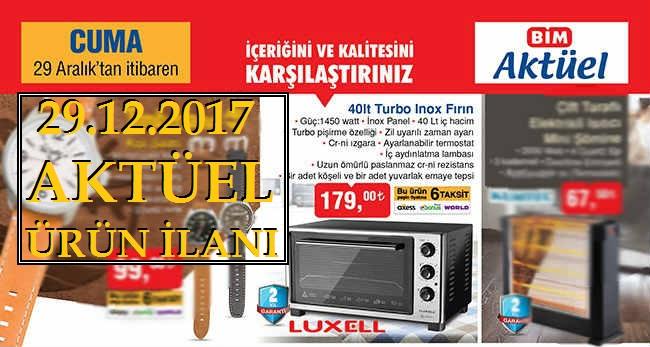 Bim Aktüel 40Lt. Luxell Turbo İnox Fırın