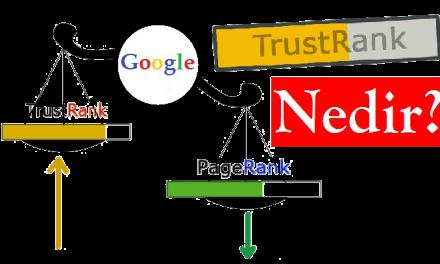 TrustRank Değerini Yükseltme