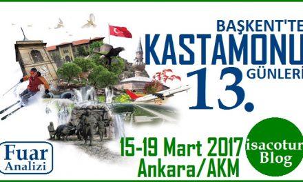Başkentte Kastamonu Günleri 2017