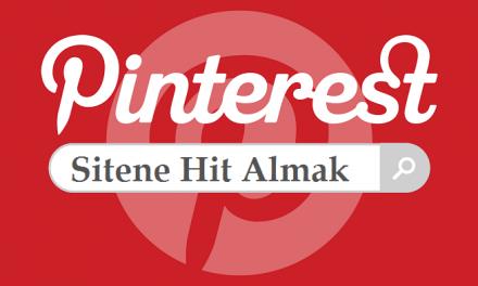 Pinterest Hit Almak