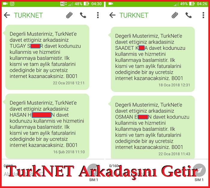 TürkNet Arkadaşını Getir Kampanyası