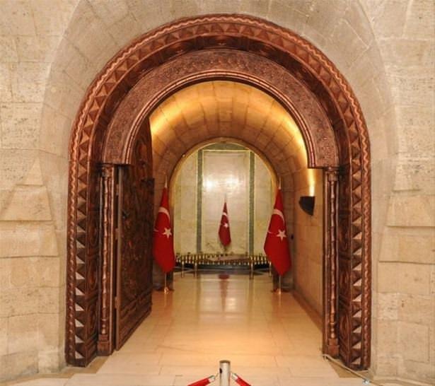 Atatürk'ün Kabrinin içi
