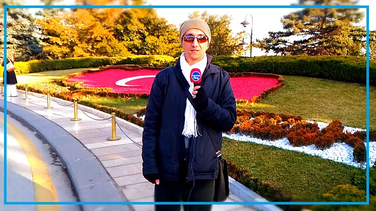 Anıtkabir Çiçekli Türkiye Haritası
