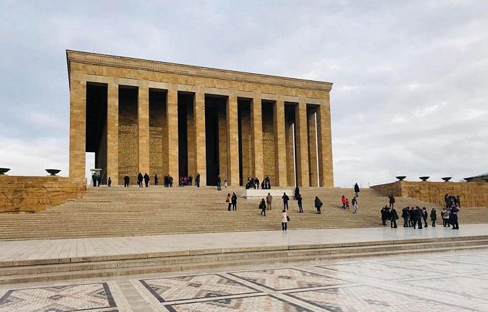 Anıtkabir Halı Desenli Tören Meydanı
