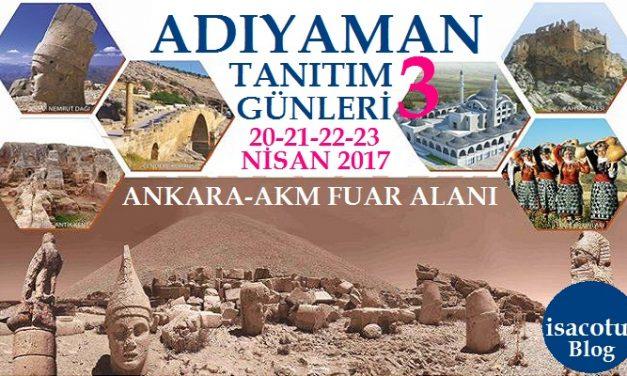 Ankara Akm Adıyaman Tanıtım Günleri